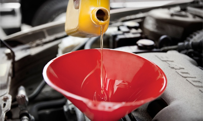 Express Oil Change & Service Center - 9: $20 for an Oil Change, Tire Rotation, and Brake Inspection at Express Oil Change & Service Center ($58.98 Value)