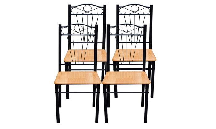 Ensemble table et chaises groupon shopping for Ensemble table et chaise 6 personnes