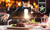Magic-Dinner-Show mit 5-Gänge-Menü für Zwei, opt. mit ÜbernachtungFrühstück, bei Gut Hohenholz (bis zu 50% sparen*)