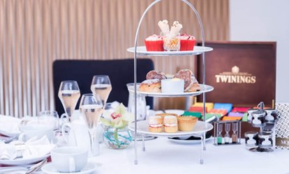image for Afternoon Tea with Optional Glass of Prosecco for Two or Four at Mojo The Food Bar