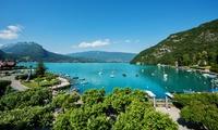 Lac d'Annecy : 1 à 2 Nuitées avec spa, dîner en option à l'Abbaye de Talloires 4* pour 2 personnes