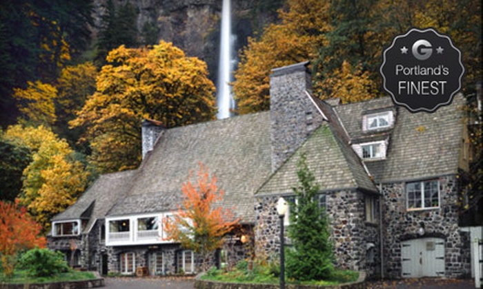 Multnomah Falls Lodge - Brial Veil: Breakfast, Lunch, or Dinner at Multnomah Falls Lodge (Up to 53% Off)