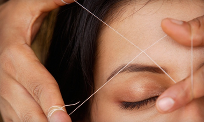 Kauser's Salon and Spa - Roscoe Village: Threading Session for Eyebrows and Upper Lip or Eyebrows and Full Face at Kauser's Salon and Spa (Up to 55% Off)