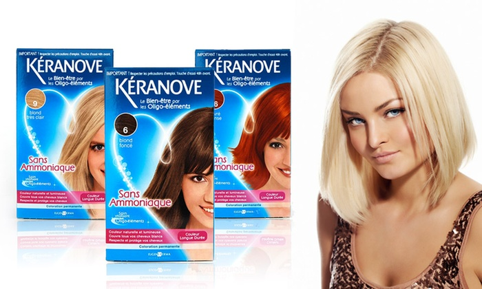 groupon goods global gmbh colorations permanentes keranove au choix ds 1190 - Keranove Coloration Sans Ammoniaque