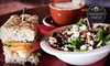 Hearthstone Coffee House & Pub - Fishers Town Commons: Carry-Out Entrees and Drinks for Two or Café Food for Two or Four at Hearthstone Coffee House & Pub (Up to 52% Off)