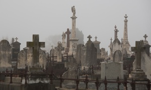 Phil Goodstein Walking Tours: Two-Hour Cemetery and Ghost Tours for Two from Phil Goodstein Walking Tours (40% Off). Eight Options Available.