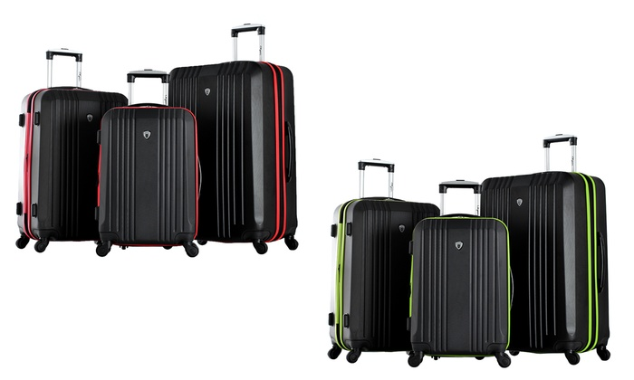 Expandable Spinner Luggage Set | Groupon Goods