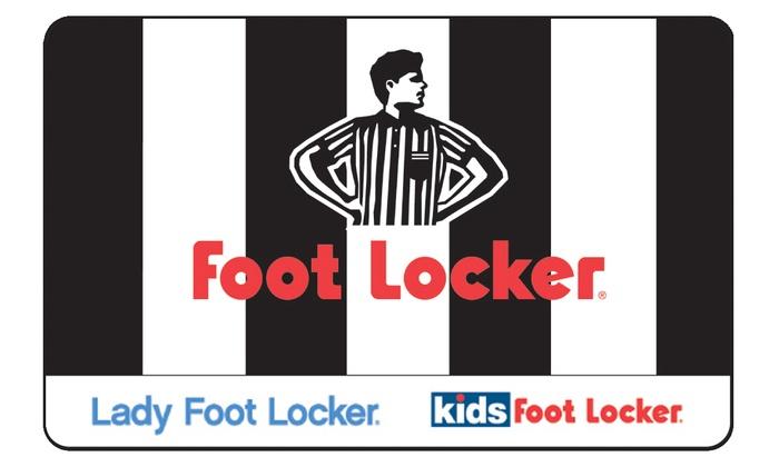 Foot Locker: $25 Voucher to Foot Locker + 10% Back in Groupon Bucks