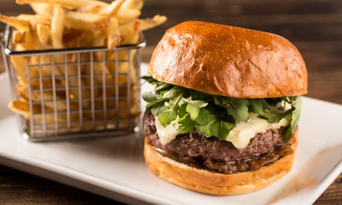 Dolce Gastropub & Bakery - Montclair: Burger Combo with Beer and Dessert for Two or Four at Dolce Gastropub & Bakery (Up to 41% Off)