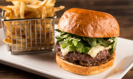 Burger Combo with Beer and Dessert for Two or Four at Dolce Gastropub & Bakery (Up to 41% Off)