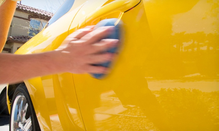 Eco Auto Salon - Old Pasadena: Eco-Friendly Exterior Auto Detail for a Car or SUV from Eco Auto Salon (Up to 74% Off)
