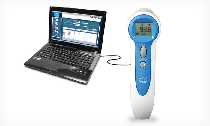 ION Health USB Insta Scan Thermometer: ION Health USB Insta Scan Thermometer. Free Returns.