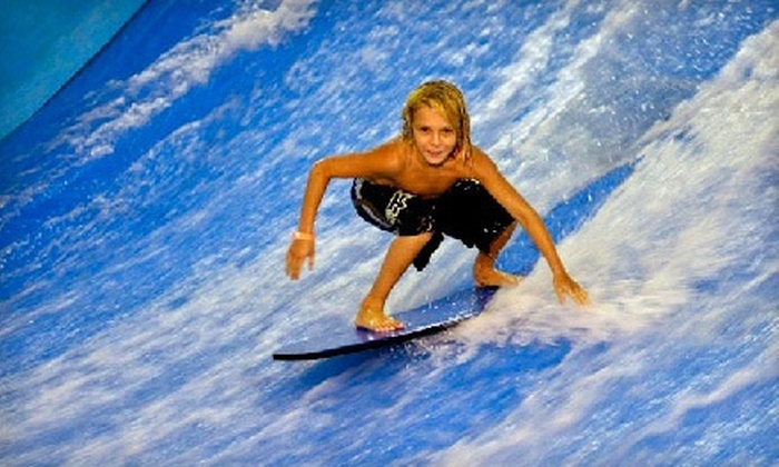 Aqua Shop - Hallandale Beach: $20 for Two Indoor Surfing Sessions at Aqua Shop ($40 Value). Two Options Available.