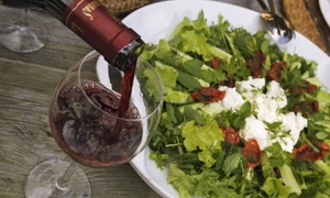 1742 Wine Bar: $25 for a Dinner with Two Entrees and One Bottle of Wine at 1742 Wine Bar ($80.90 Value)