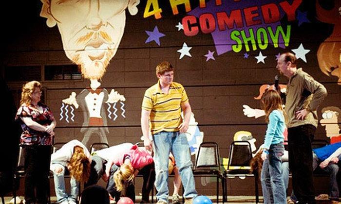 Wild 4 Hypnosis Comedy Show - Big Laughs Theatre: $25 for a Wild 4 Hypnosis Comedy Show for Two at Big Laughs Theatre ($53.90 Value)