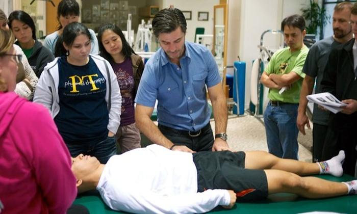Hands-On Seminars, Inc. - Astoria: Eight-Hour Massage Class at Hands-on Seminars, Inc. (52% Off)