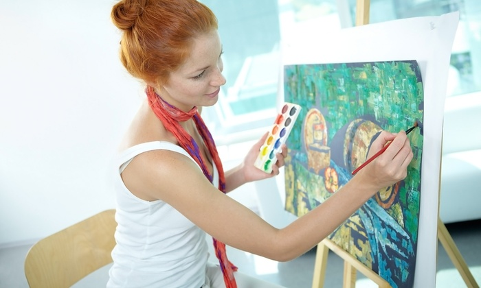 Patricia Ann Wilson - Exploring Multiple Mediums Art Course - Industrial District East: Art Class for One or Two from Patricia Ann Wilson - Exploring Multiple Mediums Art Course (Up to 71% Off)