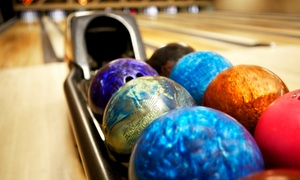 Steve Cook's Fireside Lanes: Bowling for Two, Four, or Six with Shoe Rental, Drinks & Nachos at Steve Cook's Fireside Lanes (Up to 52% Off)