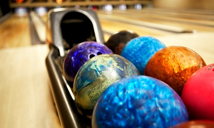 Bowling or Moonlight Bowling with Shoe Rentals for Two at Lincoln Lanes (50% Off)