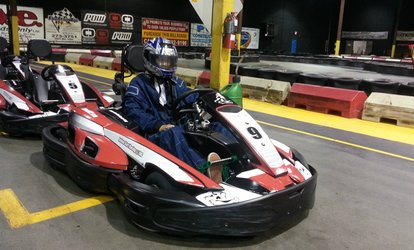 image for One Go-Kart Race or 15-Minute Racing Package for Up to 12 Karts at TBC Indoor Kart Racing (Up to 50% Off)