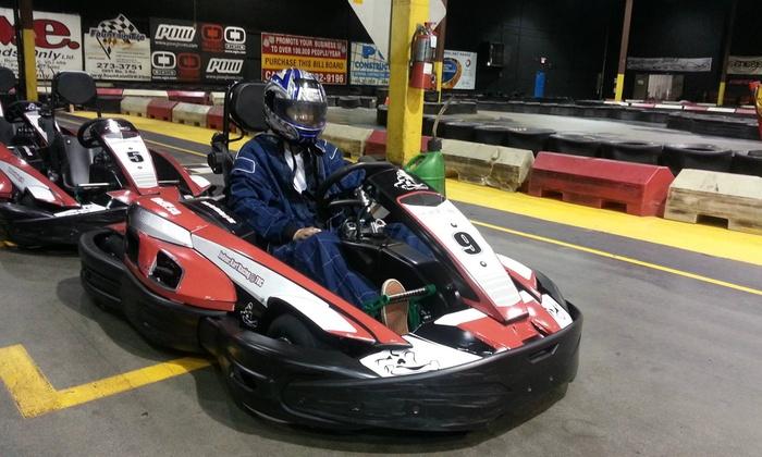 Indoor Kart Racing @ TBC - Indoor Kart Racing at TBC: C$10.99 for a Single Go-Kart Race at Indoor Kart Racing @ TBC (C$22 Value)
