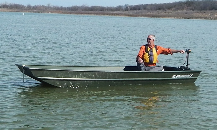 Dallas Fort Worth Boat Rental - Lake Grapevine: 2-Hour, 4-Hour, or Full-Day Electric Powered Boat Rental from Dallas Fort Worth Boat Rental (Up to 45% Off)