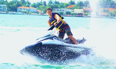 Jet Ski Rentals and Jet Boat Miami Tours (Up to 48% Off). Three Options Available.