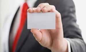 45% Off Custom Business Cards at iDesign Creative Services, plus 6.0% Cash Back from Ebates.