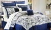 Kardashian Kollection 4-Piece Comforter Set: Kardashian Kollection 4-Piece Comforter Set in Full, Queen, or King. Free Returns.