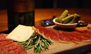 Wine, Cheese, Charcuterie, and Small Plates for Two or Four at Lelabar (Up to 45% Off)