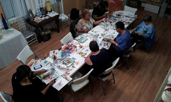 Stylish Party Ideas - Multiple Locations: $50 for $100 for  Vision Board Party (Includes Supplies) For Up to 7 Guests with Complimentary Coffee and Tea