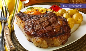 CY Steak: Five-Course Steakhouse Dinner and Cabaret Show for 2, 4, or 10 at CY Steak (Up to 50% Off)