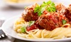 50% Off at Spaghetti & Steakhouse