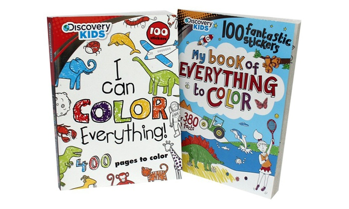 discovery kids giant coloring book set 2 piece discovery kids giant coloring - Giant Coloring Book