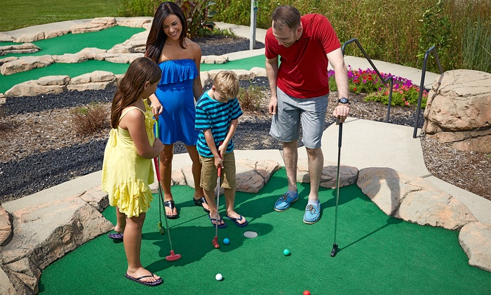Putter's Pride Mini Golf Courses - Southwest Denver: Unlimited Mini Golf for Two, Four, or Six at Putter's Pride (Up to 47%Off)