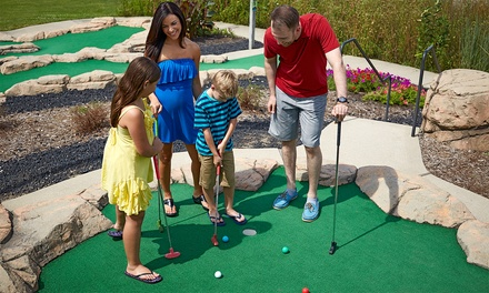 Unlimited Mini Golf for Two, Four, or Six at Putter's Pride (Up to 47%Off)