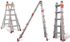 Little Giant LT-17' or LT-22' Multi Purpose Ladders 300lbs Capacity