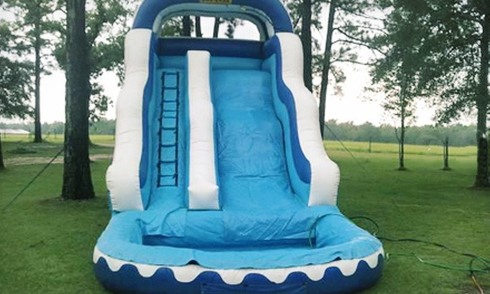 Xtreme Energy Inflatables - Greenville: $150 for a Half-Day Inflatable Water Slide and Snow-Cone Machine Rental from Xtreme Energy Inflatables ($300 Value)
