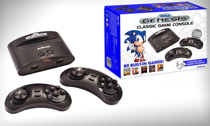 $39 99 for an AtGames Sega Genesis Classic Game Console ($49 99 List  Price)  Free Shipping and Returns