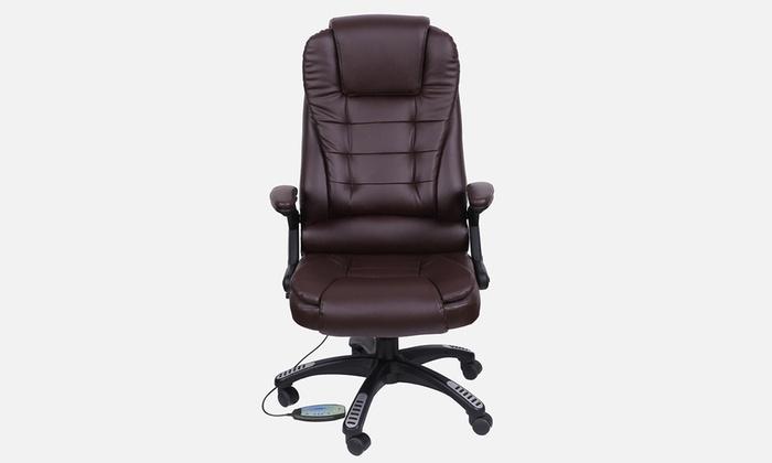 fauteuil de bureau massant groupon shopping. Black Bedroom Furniture Sets. Home Design Ideas
