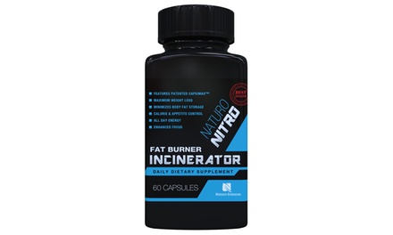 Naturo Nitro Fat Burner Incinerator Dietary Supplement with Capsimax (60 Capsules)
