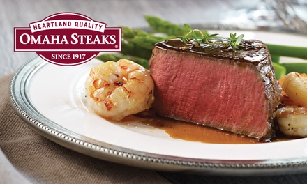 New Year's Steak Combo Pack from Omaha Steaks (Up to 70% Off). Three Options Available.