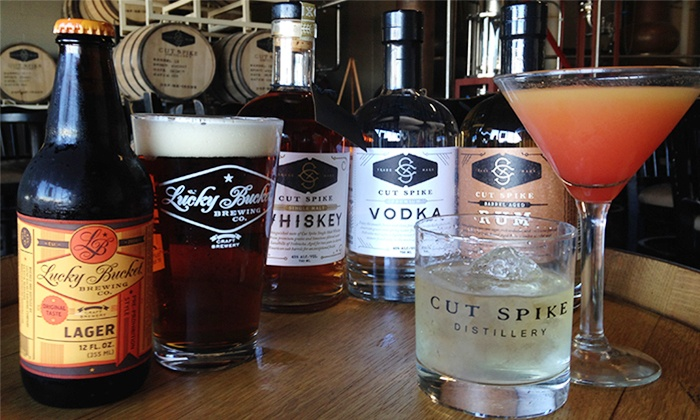 Lucky Bucket Brewing and Cut Spike Distillery - Lucky Bucket Brewing Company: Tours with Drinks at Lucky Bucket Brewing and Cut Spike Distillery (61% Off)