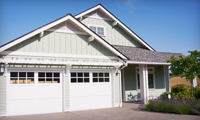 Accurate Garage Doors - Central College: 5-Point Inspection, Safety Check, and Tune-Up for One or Two Garage Doors from Accurate Garage Doors (Up to 80% Off)
