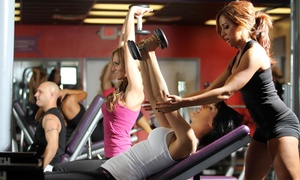 Gym Matrix: Gym Access & a Fitness Assessment with Option for a Group Training Session at Gym Matrix (Up to 73% Off)