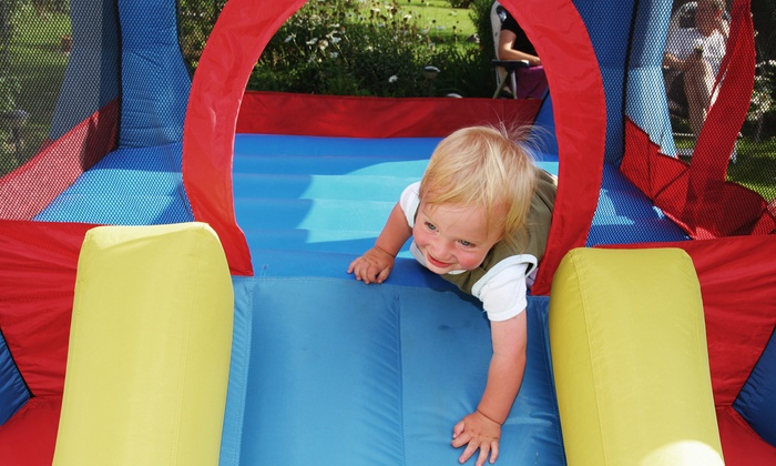 Pump It Up - Chula Vista: 5 Pop-In Playtime Sessions at Pump It Up in Chula Vista ($35 Value)
