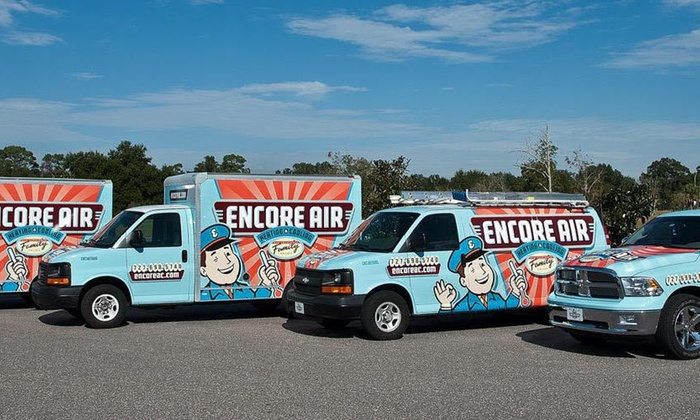 Encore Air, LLC Heating & Air Conditioning - Tampa Bay Area: HVAC Cleaning and Inspection from Encore Air, LLC Heating & Air Conditioning (49% Off)