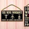 Wooden Hanging Quote Signs