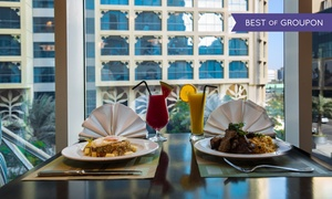 Al Wahda All Day Dining-Grand Millennium AlWahda: Lunch or Dinner Buffet with Soft Drinks for Up to Eight at Al Wahda at Grand Millennium Al Wahda (Up to 59% Off)
