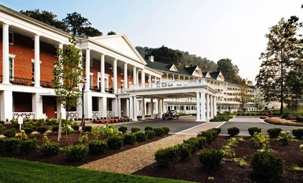 Stay with $50 Resort Credit at Omni Bedford Springs Resort in Bedford, PA. Dates into September.